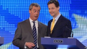 farage and cleggy