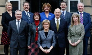 Nicola Sturgeon new Scottish government